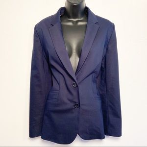 Chico's 2 Button Navy Career Blazer